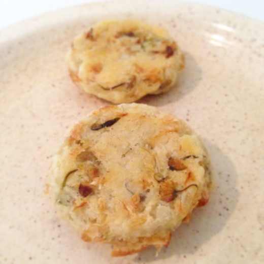 Acacia Flowers Shortbread Biscuits
