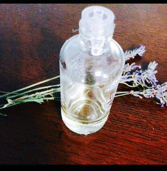 Lavender oil is great for aromatherapy!