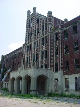 Waverly Hills Sanitorium...perhaps the most haunted abandoned hospital in America.