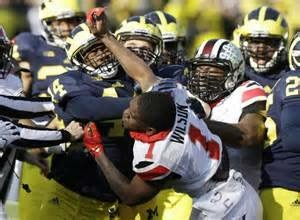 Ohio State and Michigan fans have hated each other since the beginning of time - on and off the field!