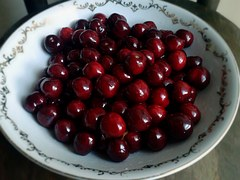 Cherries are a sweet and tasty fruit.