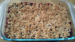 Fruity and Delicious Crumbly Cake