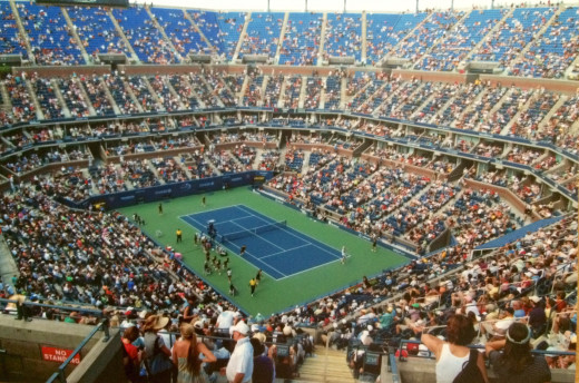 Arthur Ashe Stadium is the largest tennis venue in the world.