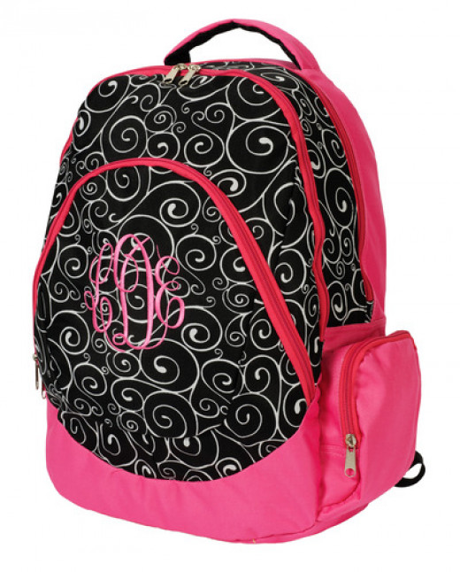 Girly-girl backpack.
