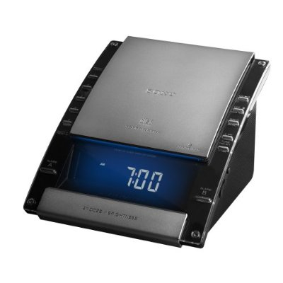 Sony ICF-CD7000BLK AM/FM Stereo CD Clock Radio