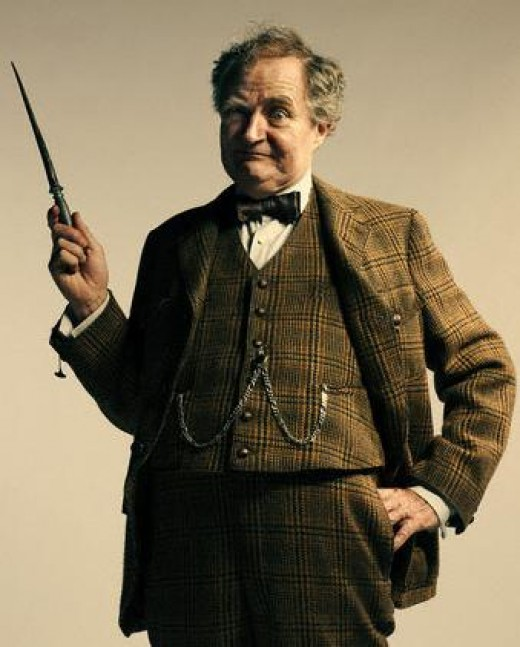 Horace Slughorn, played by Jim Broadbent