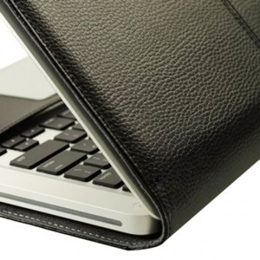A durable guard against scrapes and impacts, the TopCase does not block access to the Apple notebook's ports and features.  The cover has an expensive look and feel, despite being relatively inexpensive to buy.