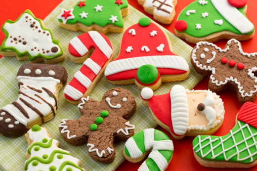 Christmas Cookies in a variety