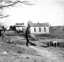 Union Soldiers, Centreville, VA  May, 1862.