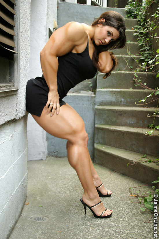 muscled legs