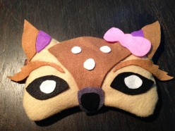 DIY Eye Mask Tutorial for Sleep or Parties