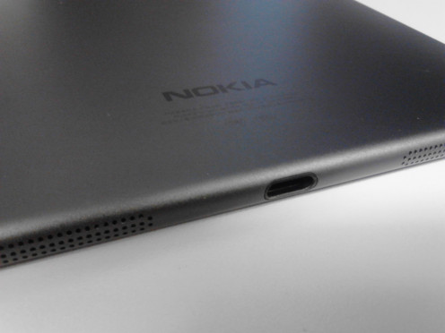Nokia N1 Tablet with microUSB-C port.
