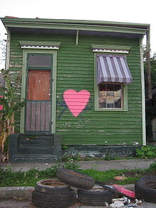 Typical Shotgun House