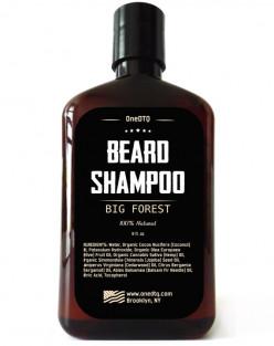 OneDTQ Big Forest Beard Care Kit: Beard Shampoo & Beard oil.