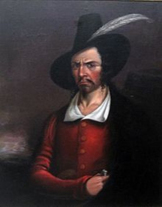 Portrait of Jean Lafitte 1780-1823