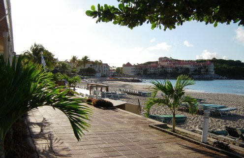 Beach Property coverage, photo taken by Randi Glazer