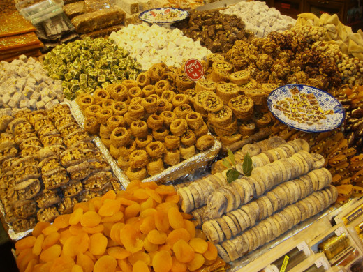 Turkish delights in the Spice Market