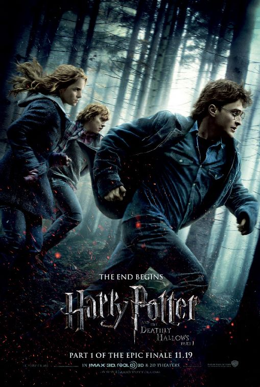 "Promotional poster for ""Harry Potter And The Deathly Hallows: Part One"""