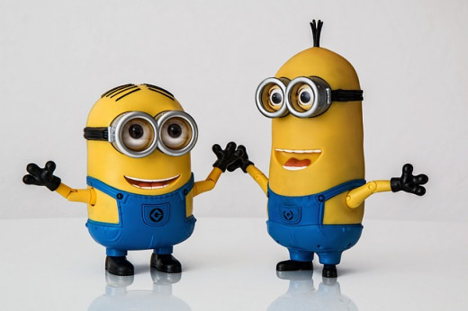 Even sweeter than they were on Despicable Me ... because now it's all about them