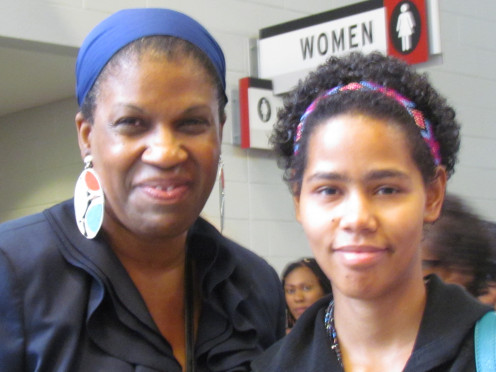 Patricia Wesley and daughter Kia, thoroughly enjoyed this event.