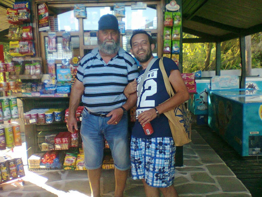He owns a small shop on Koukounaries Beach in Skiathos. He only wants IMF and EU to be fair.