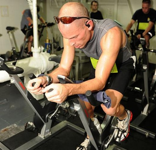 Cycling is better than running for building muscle.