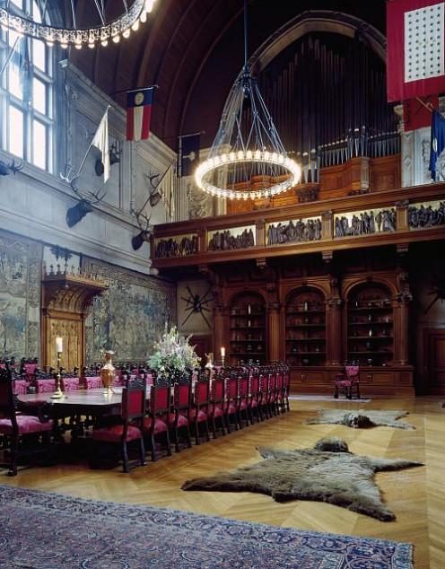 Banquet Hall At Biltmore Mansion