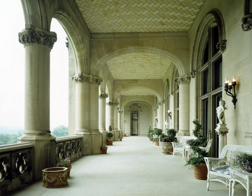 Veranda At Biltmore Mansion
