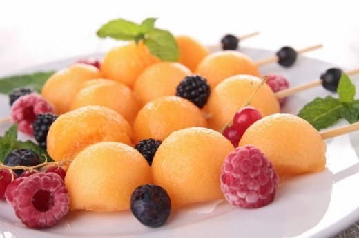 Frozen Fruit a great summer treat its cool, refreshing and healthy.