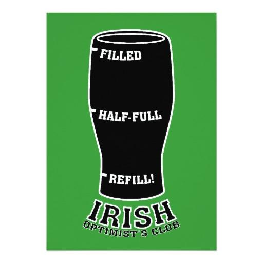 Irish Optimists Club Invitation