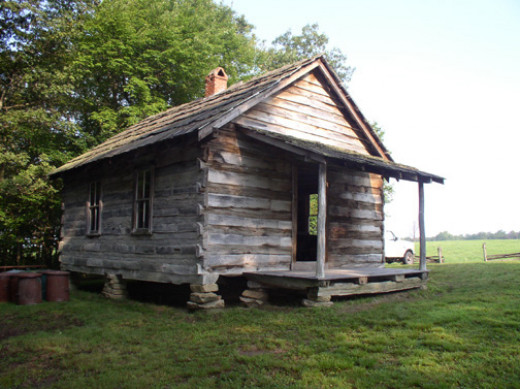 Brush Mountain Schoolhouse in the Hensley Settlement Historic District, Cumberland Gap National Historical Park, Kentucky