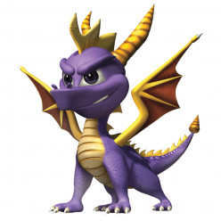 Video Game Characters on Life Support: Spyro the Dragon