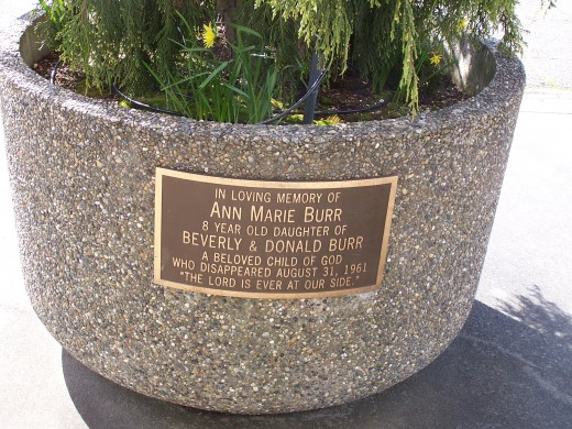 A memorial for Ann Marie Burr