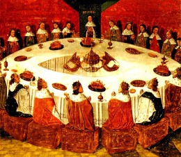 It is easy to connect with King Arthur and his knight of the round table by simply learning their stories.