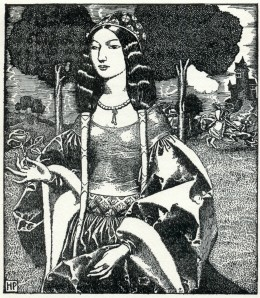 The Queen Guinevere may have seemed feeble to some, but she stood for women's rights to others.