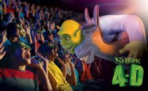 Shrek 4D opened in 2003 at Universal Studios in Florida, Australia, Germany, California and Japan.