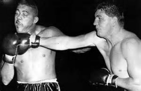 Although Rex Layne put up gallant efforts he was stopped in both his attempts at trying to topple Tom Jackson.