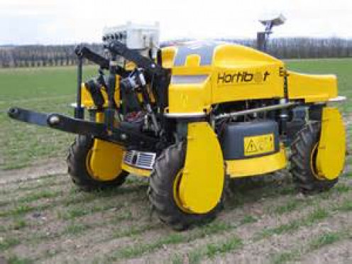 The Hortibot is basically a weed removing robot that functions by itself.