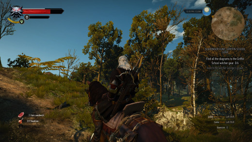 Lots of time on his horse. First single player game I've actually used one.