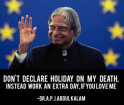 The Most Memorable and Inspirational Quotes from the great Teacher APJ Abdul Kalam through Pictures