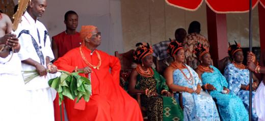 Omo N' Oba N'Edo Uku Akpolokpolo, Oba Erediauwa, Oba of Benin