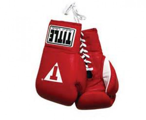 Boxers in the pro game use gloves that range, depending on weight classes, from 8 ounces to 12 ounces.