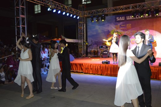 Couple Dance by Students