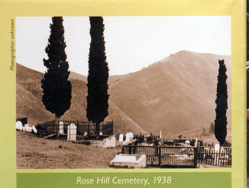 Rose Hill Cemetery, circa 1939