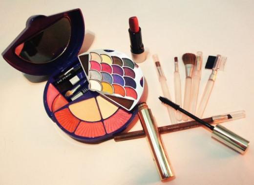 Organic skin care - makeup
