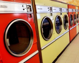 A high-quality laundromat, perfectly germane to this medium-quality article.