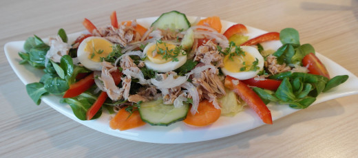 Protein rich salad