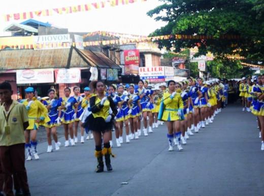 Bato, Leyte Opening Salvo School Parade.