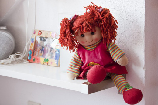 The popular rag doll. One of the more famous is Raggedy Ann.