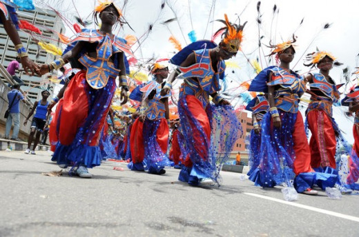 Participants at Lagos Carnival